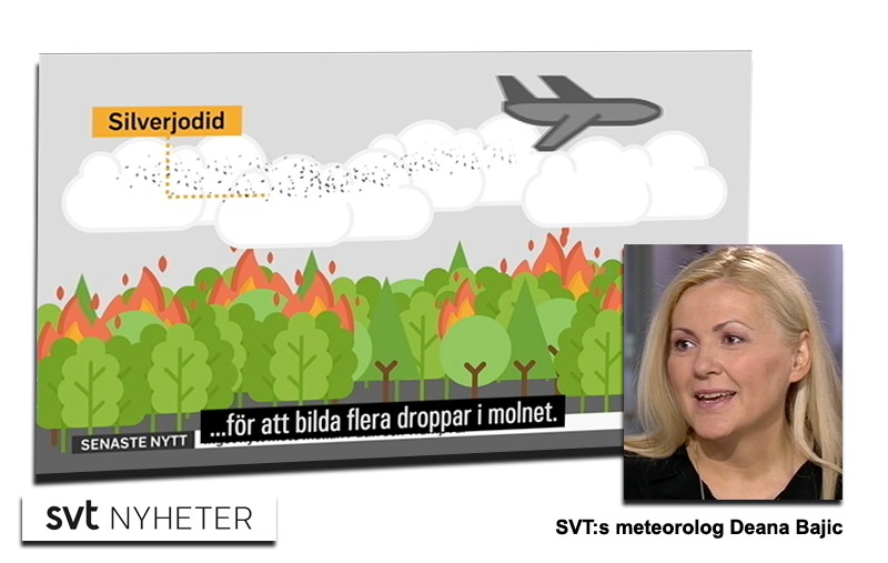 Geoengineering enligt SVT - Montage: NewsVoice
