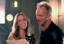 Sheryl Crowe och Sting - Foto: A&M Records