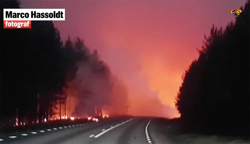Bränderna i Sverige sommaren 2018 - Foto: Marco Hassoldt