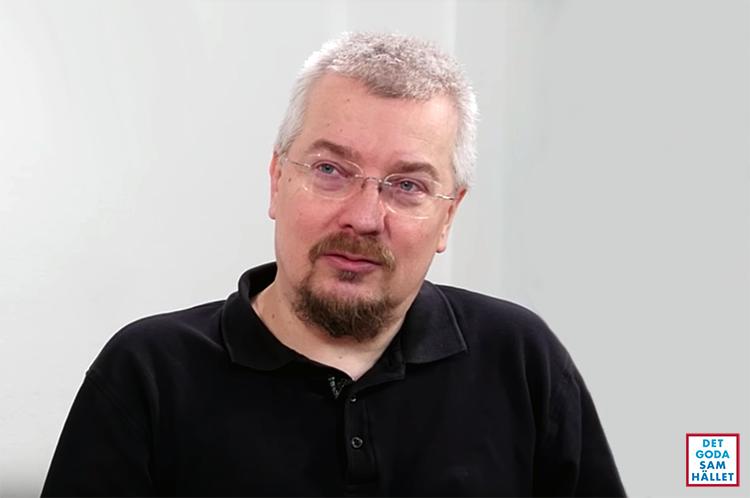 Professor Per Ödling - Foto: Det Goda Samhallet