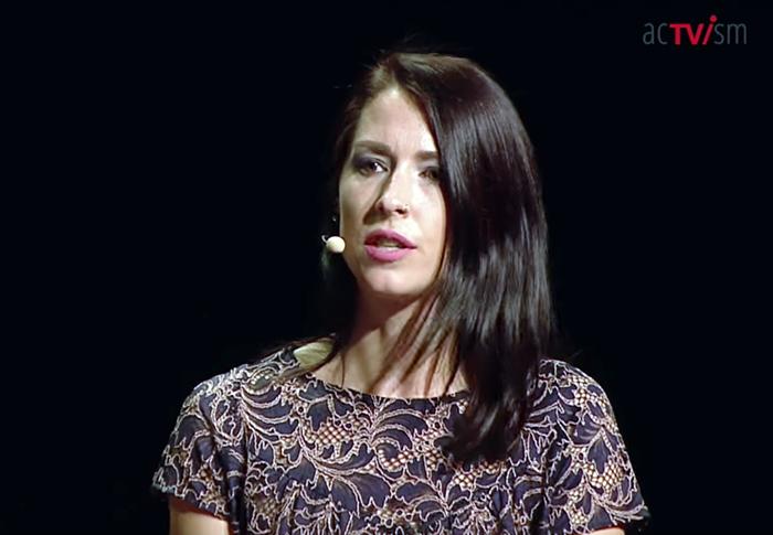 Abby Martin, 2018 - Foto: acTVism Munich