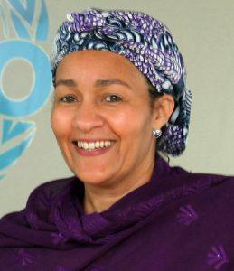 Amina J. Mohammed - Foto: UNIDO, CC BY 2.0, Wikimedia