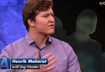 Henrik Malmrot - Foto: SVT Aktuellt