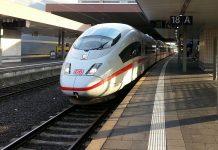 Höghastighetståg i Tyskland. Foto: Karin. Licens: Pixabay.com, CC0