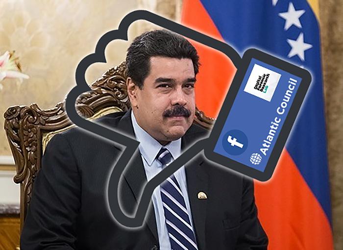 Montage av NewsVoice baserat bla på foto av Nicolas Maduro (foto: Tasnim News Agency, CC BY 4.0, Wikimedia Commons)