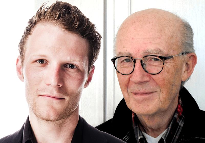 Peter Alestig (pressfoto: SvD) och Lars-Bern (foto och montage: NewsVoice).