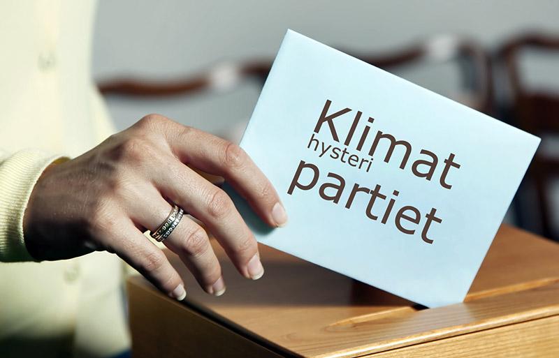 Klimathysterin slår svall under valet 2018. Foto tillhandhållet av 2000tv.se