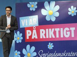 Sverigedemokraterna, Jimmie Åkesson. Foto: News Oresund, CC BY 2.0, Wikimedia