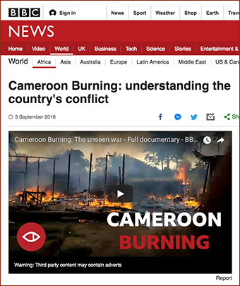 BBC Africa Eye. Screenshot from BBC.