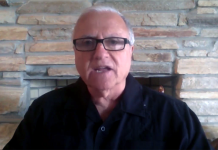 Dr Steve Pieczenik (2018) Photo: Private camera