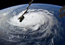 Hurricane Florence Sep 10 2018 - Photo: Astronaut Ricky Arnold, NASA