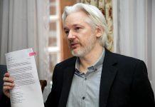 Julian Assange. Foto: Ricardo Pati, Cancilleria del Ecuador. Licens: CCBY-SA2.0, Wikimedia Commons