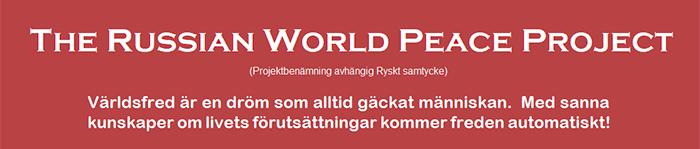 Russian World Peace Project