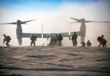 U.S. Marine Corps. Photo: Cpl. Teagan Fredericks, press photo Centcom.mil