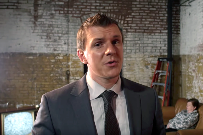 James O'Keefe - Foto: Project Veritas, september 2018