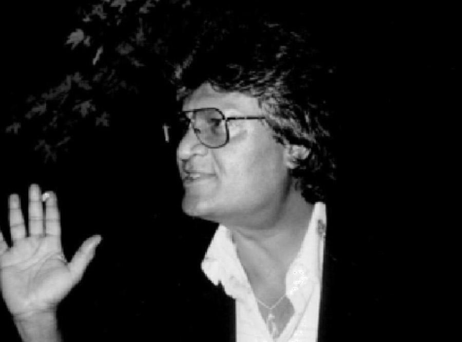 John Virapen 1980-talet. Privat foto.