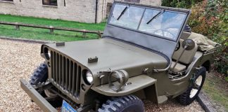 Steve McQueens Willys Jeep. Image Credit: Autoblog.com