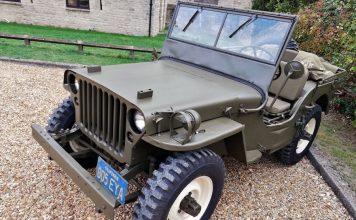 Steve McQueens Willys Jeep. Image Credit: Autoblog.com