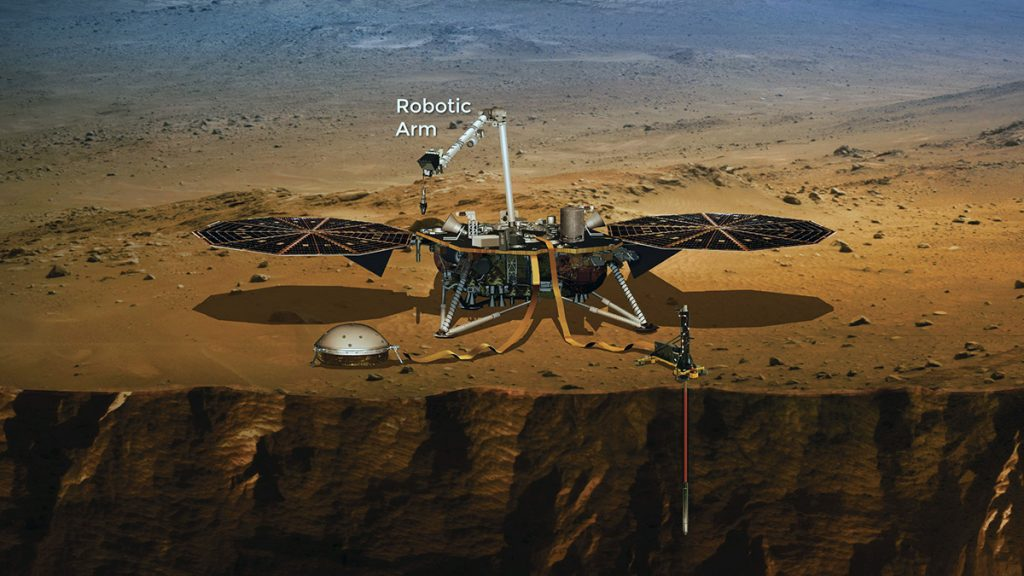 InSight lander - Image: NASA