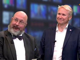 """Patrik Oksanen och Mikael Tofvesson (MSB). Foto: Expressen.se, """"MSB: """"Hela samhället står till Kremls förfogande"""""""