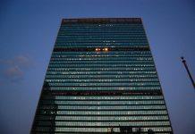 United Nations (FN) i New York. Foto Tadekk. Licens: CC BY 2.0, Flickr.com