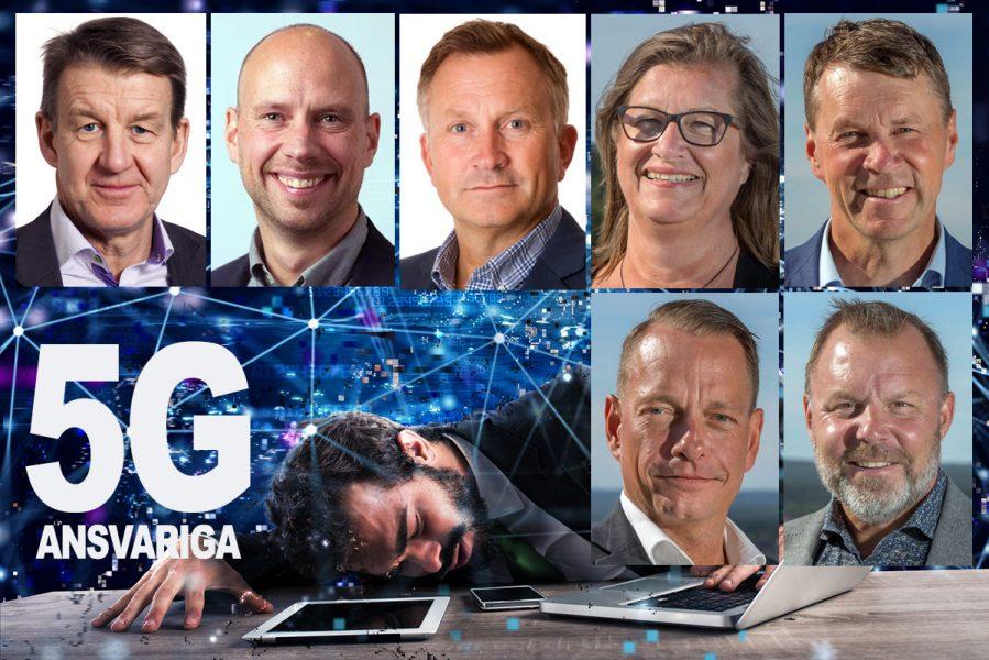 De ansvariga för 5G i Umeå. Montage: NewsVoice.se