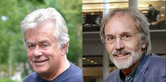 Seniorprofessorerna Håkan Hydén och Per Wickenberg vid Lunds Universitet. Pressfoton: Lunds Universtitet