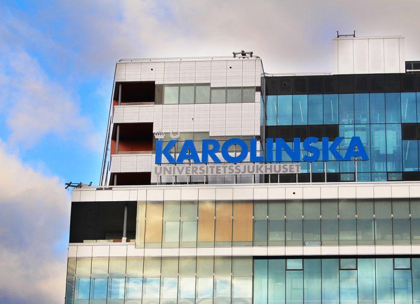 Karolinska Universitetssjukhuset. Pressfoto: Carin Tellstrom