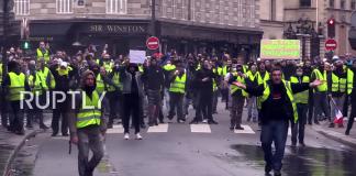 Paris riots 8 dec 2018. Foto: RUPTLY
