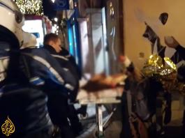 Terrordåd i Strasbourg den 11 dec 2018. Foto: Aljazeera.com