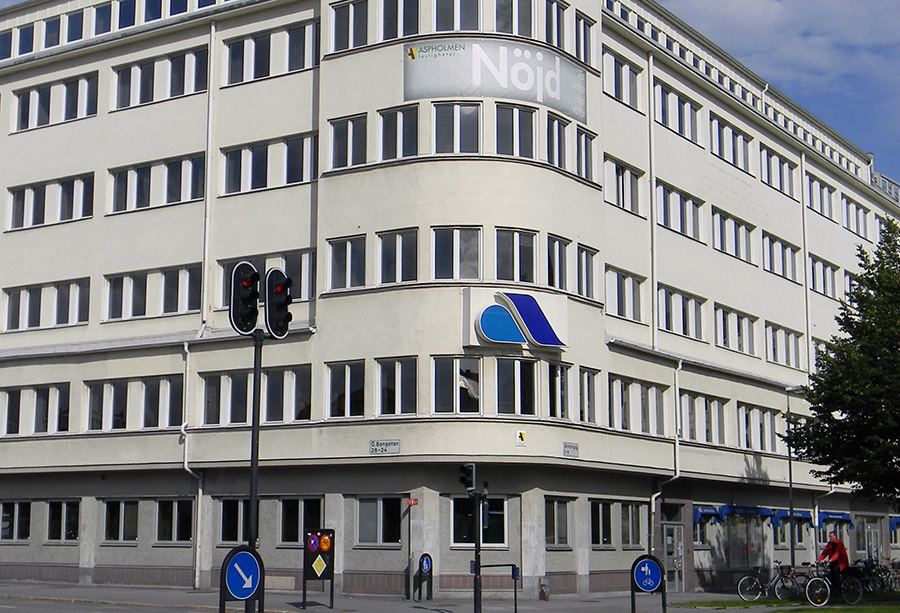 Arbetsförmedlingen i Örebro. Licens:CC BY-SA 3.0, Wikimedia Commons