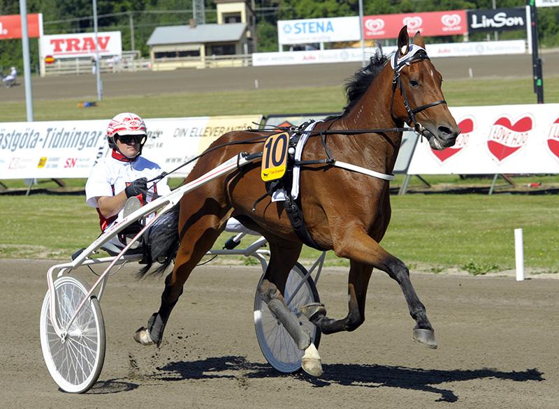 Hästsporten var en del av det svenska spelmonopolet (i bild Blended Scotch och Per Linderoth). Foto: ALN, CC BY-SA 3.0