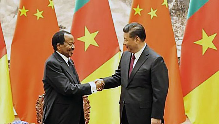 Kina ska göra Kamerun skuldfritt. Foto: Journalducameroun.com