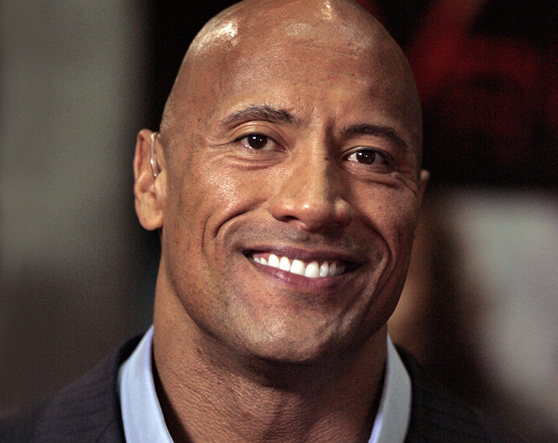Dwayne Johnson (The Rock). Foto: Eva Rinaldi. Licens: CC BY-SA 2.0, Wikimedia Commons