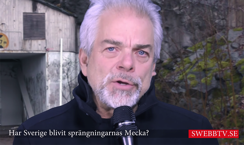 Mikael Willgert jan 2019. Foto: SwebbTV