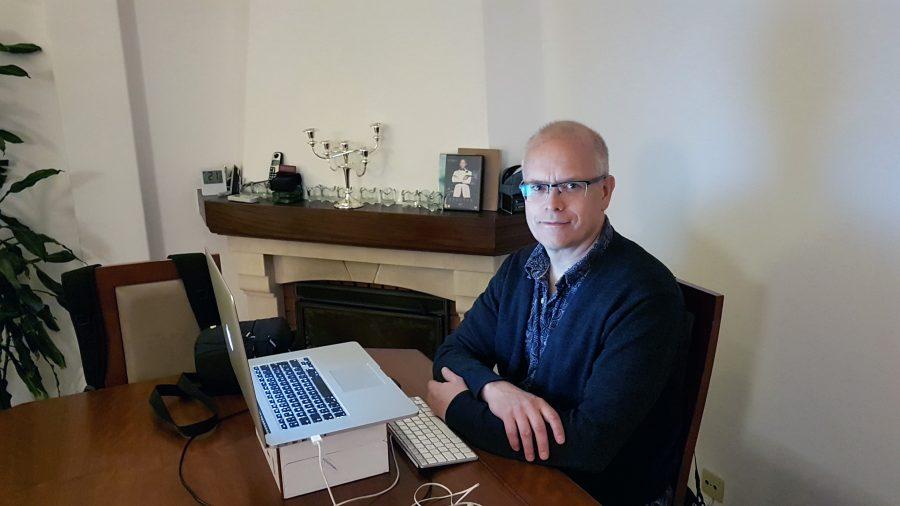 Torbjörn Sassersson, 2019. Foto: F. Sassersson