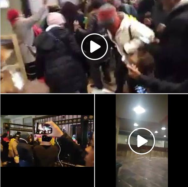 Videos från Kameruns ambassad den 26 januari 2019. Videos: Ernest Cho Chi, Facebook
