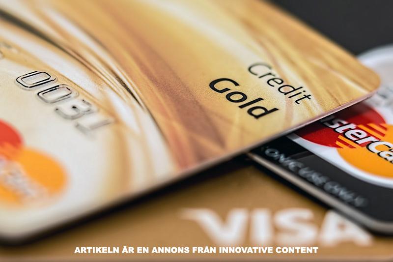 Hitta det bästa kreditkortet - Bild: Innovative Content