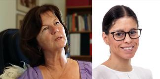 Läkaren Agneta Schnittger (foto: NewsVoice.se) och ST-läkaren Lina Rosengren (pressfoto: Research-LU.se)