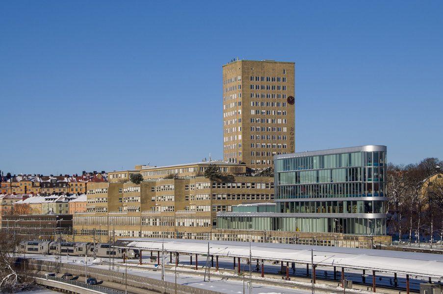 Bonnierhuset i Stockholm. Foto: I99pema. Licens: CC BY-SA 4.0, Wikimedia Commons