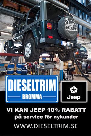 Bilverkstad Jeep