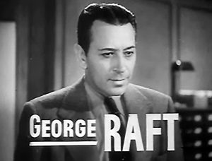 "George Raft i filmen ""Invisible Stripes"" (1939). Foto: Public Domain"