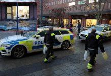 Handelsbanke i Hässelby Gård rånades den 14 februari 2019. Foto: NewsVoice.se