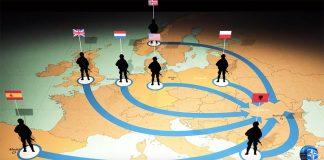 NATO-styrkor i Europa - Foto från NATO-video: NATO.int