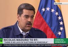 Nicolas Maduro 5 feb 2019. Foto: RT.com
