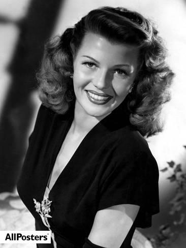 Rita Hayworth (1946). Foto: AllPosters.com