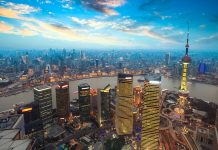 Shanghai i Kina. Foto: All-free-download.com
