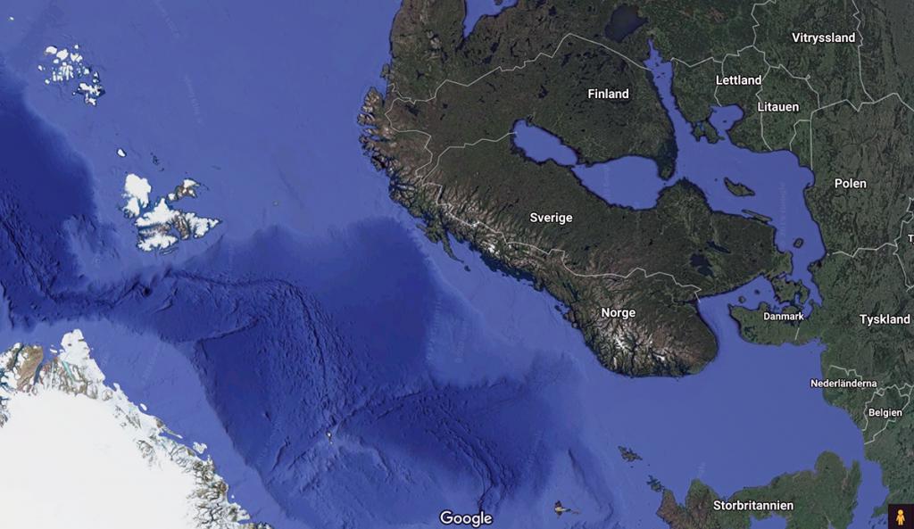 Sverige - Google Maps