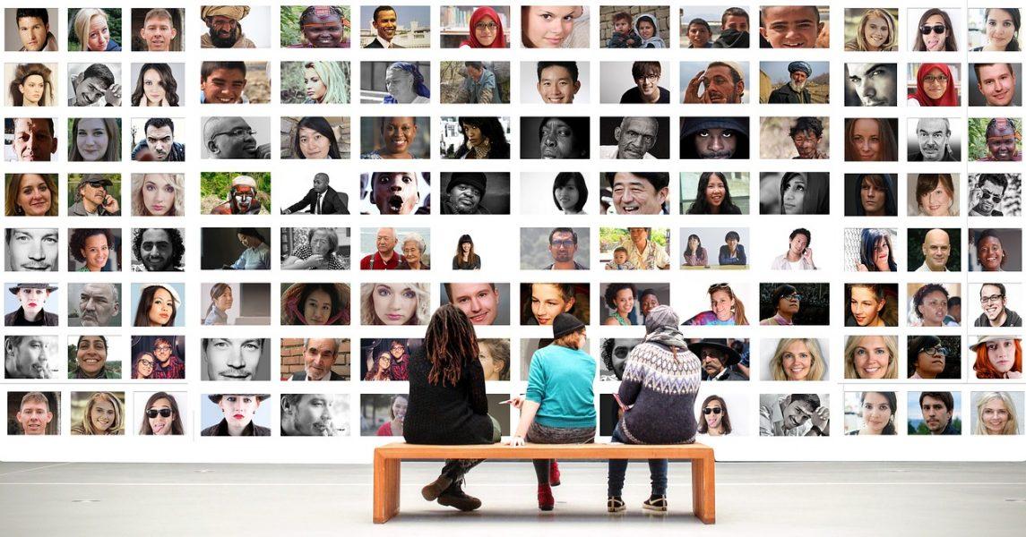 Det mänskliga samhället. Foto: Gerd Altmann. Pixabay.com-licens