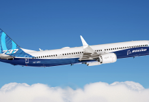 Boeing 737 MAX.Pressfoto: Boeing.com
